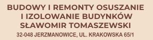 Usługi ogólnobudowlane Tomaszewski Sławomir